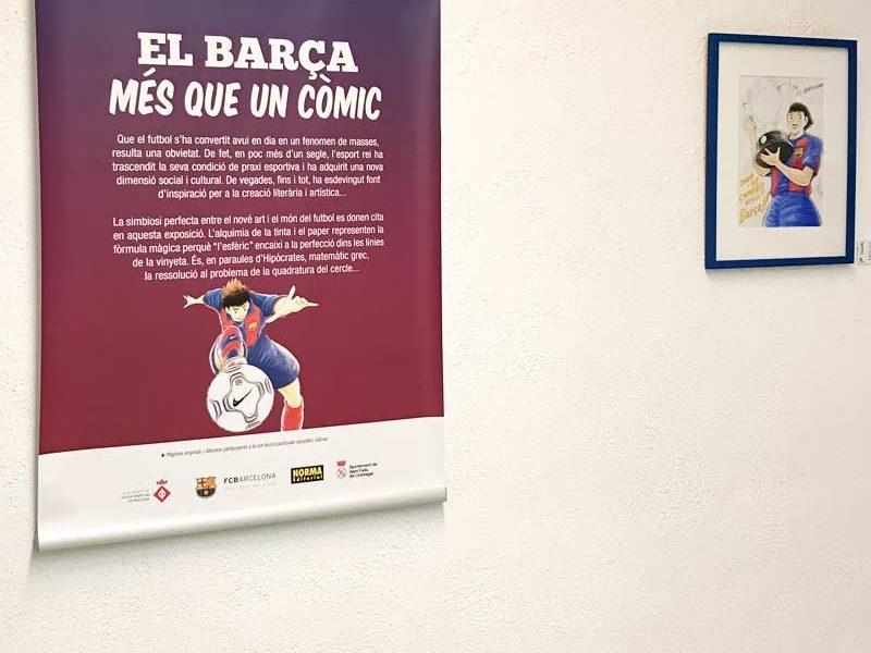 """Exposició """"El Barça, més que un còmic"""""""